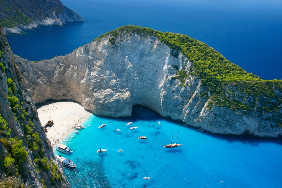 'Amazing Navagio Beach in Zakynthos Island, Greece' - Zante