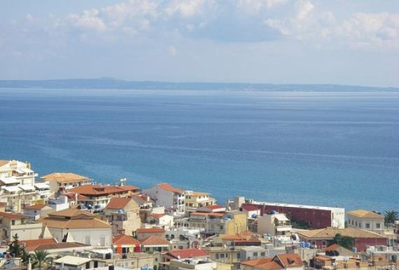 'view from Zakynthos castle' - Zante